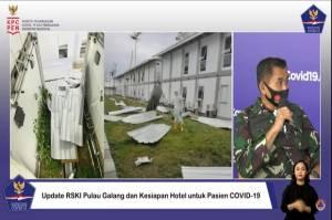 TNI Pastikan Kerusakan RS Pulau Galang Tak Berdampak Pada Pasien Covid-19