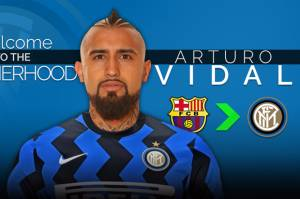 Arturo Vidal Ucapkan Salam Perpisahan pada Fans Barcelona