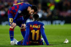 MU Bujuk Barcelona Agar Mau Menyerahkan Dembele