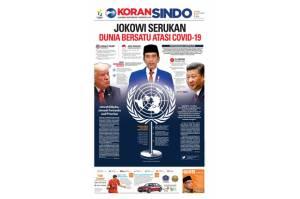 Jokowi Serukan Dunia Bersatu Atasi Covid-19