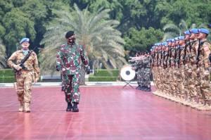 Panglima TNI Berangkatkan 200 Prajurit dalam Misi Perdamaian PBB