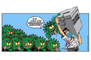 Cegah Bom Waktu Korona saat Pilkada