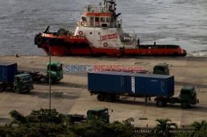 Progres Pembangunan Pelabuhan Kijing Pontianak Sudah 70 persen