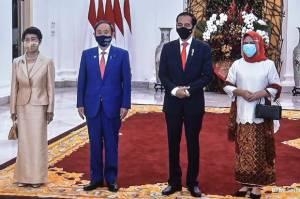 Pertemuan Jokowi dan PM Jepang Soroti Situasi Laut China Selatan