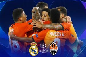 Susunan Pemain Real Madrid vs Shakhtar Donetsk