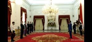 Presiden Jokowi Terima Surat Kepercayaan Duta Besar AS dan 6 Negara Sahabat
