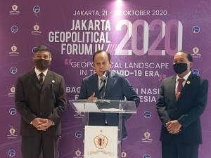 Gubernur Lemhannas Sebut Pandemi Covid-19 Pengaruhi Lanskap Geopolitik di Dunia