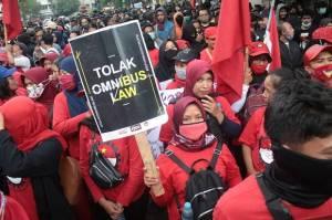 Aksi Demo UU Cipta Kerja Berpotensi Jadi Klaster Baru Penularan Covid-19