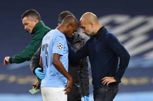 Pep Guardiola Pastikan Fernandinho Cedera Panjang