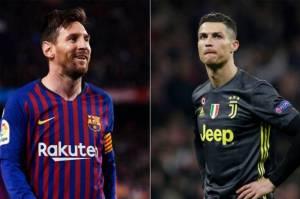 Duel Messi vs Ronaldo Bakal Ditonton Langsung 5 Ribu Suporter