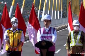 Diresmikan Jokowi, Jembatan Teluk Kendari Akan Dorong Konektivitas