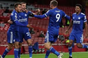 Jadi Pahlawan Leicester, Jamie Vardy Permalukan Arsenal