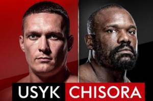 Jelang Duel di Wembley Arena Derek Chisora Kirim Pesan Menakutkan Pada Oleksandr Usyk