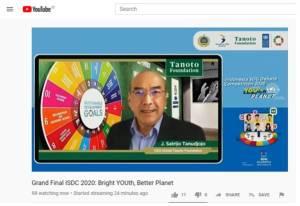 Debat SDGs ke-2 Ajak Pemuda Terlibat Pemulihan Pasca-Pandemi, Unpad Juara