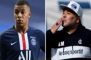 Nasihat Maradona untuk Mbappe: Hati-Hati Kamu Masih Muda