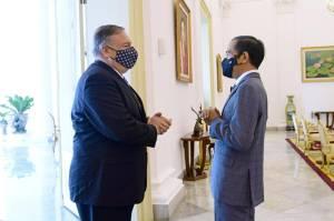 Bertemu Menlu AS Pompeo, Jokowi Ingin Kerja Sama Ekonomi dan Pertahanan Meningkat