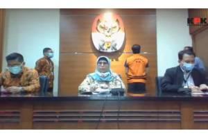 Tersangka kasus dugaan suap pengurusan perkara Mahkamah Agung Tahun 2011-2016, yakni Direktur PT MIT Hiendra Soejoto usai ditangkap KPK langsung ditahan.
