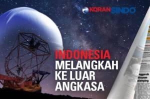 Langkah visioner diambil Indonesia. Melalui Lembaga Antariksa dan Penerbangan Nasional (Lapan), negeri ini mulai melakukan penelitian kehidupan luar angkasa.