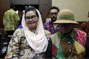 Eks Menkes Siti Fadilah Supari Bebas Murni