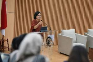 Sri Mulyani Curhat, RI Lagi Gencar Bangun Pondasi Mendadak Diserang Corona