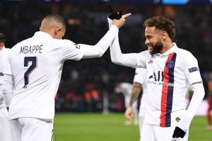 Neymar dan Mbappe Jadi Tumpuan Tuchel