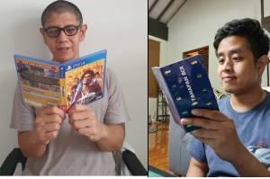 Bikin Ngakak, Beragam Aksi Netizen Berpose Baca Buku ala Anies Baswedan