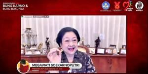 Megawati Harap Milenial Teladani Kegemaran Bung Karno Baca Buku