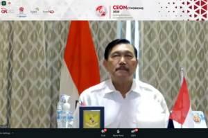 CEO Networking 2020 Jaga Optimisme Pemulihan Ekonomi, Luhut Bawa Kabar Baik
