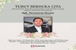Direktur Utama Sinarmas Sekuritas Hermawan Hosein Tutup Usia