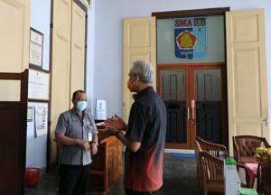 Gubernur Jateng Cek Kesiapan Sekolah Jelang Pembelajaran Tatap Muka