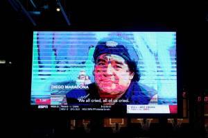 Presiden Napoli Kirimkan Surat kepada Mendiang Maradona