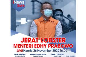 iNews Sore Hari Ini Pukul 16.00: Jerat Lobster Menteri Edhy Prabowo