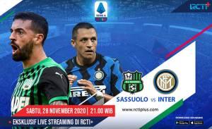Inter Milan Hadapi Rekor Tak Terkalahkan Sassuolo