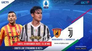 Preview Benevento vs Juventus: Dongkrak Posisi di Klasemen