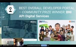 Salip 32 Perusahaan Global, BNI Jadi Pengembang API Portal Terbaik