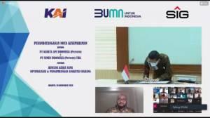 PT KAI Dukung Pendistribusian Semen Indonesia di Jawa dan Sumatera