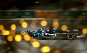 Kualifikasi GP Bahrain: Lewis Hamilton Raih Pole Position ke-98