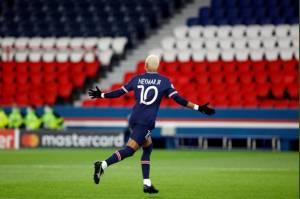 Neymar Pemain Ketiga Ligue 1 yang Cetak 50 Gol Tercepat