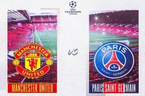 Susunan Pemain Man United vs PSG: Duel Cavani kontra Mbappe