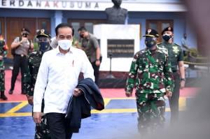 Tinjau Penanganan Gempa, Jokowi Bertolak ke Sulbar