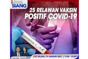 25 Relawan Positif COVID-19, Ini Penjelasan Ketua Tim Uji Klinis Vaksin Sinovac