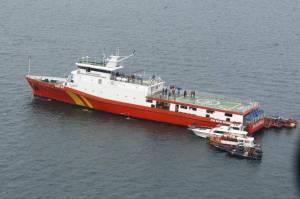 Cari Korban Sriwijaya Air, Kapal Basarnas-Kemenhub Benturan