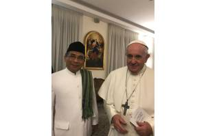 Hadiri Konferensi Internasional Vatikan, Katib Aam PBNU: Dialog Antaragama Harus Jujur