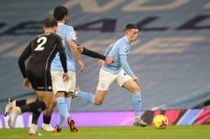 Man City Bungkam Aston Villa di Etihad Stadium
