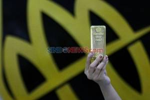 Terus Menguat, Hari Ini Harga Emas Naik Rp9.000 Per Gram