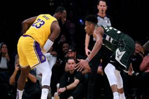 Hasil Pertandingan NBA, Jumat (21/1/2021): LeBron James Top Skor Lawan Bucks