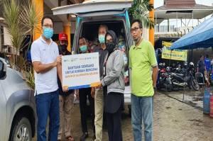Peduli Korban Banjir Kalsel, Pupuk Kaltim Salurkan Paket Logistik