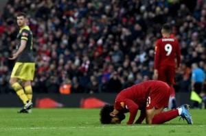 Citra Positif Salah di Liverpool Dongkrak Jumlah Jemaah Masjid di Inggris