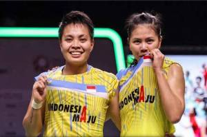 Lewat Drama Rally Panjang, Greysia/Apriyani Rebut Poin Pertama di BWF World Tour Finals 2020
