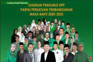 Resmi, Ini Daftar Lengkap 45 Pengurus PPP Periode 2020-2025